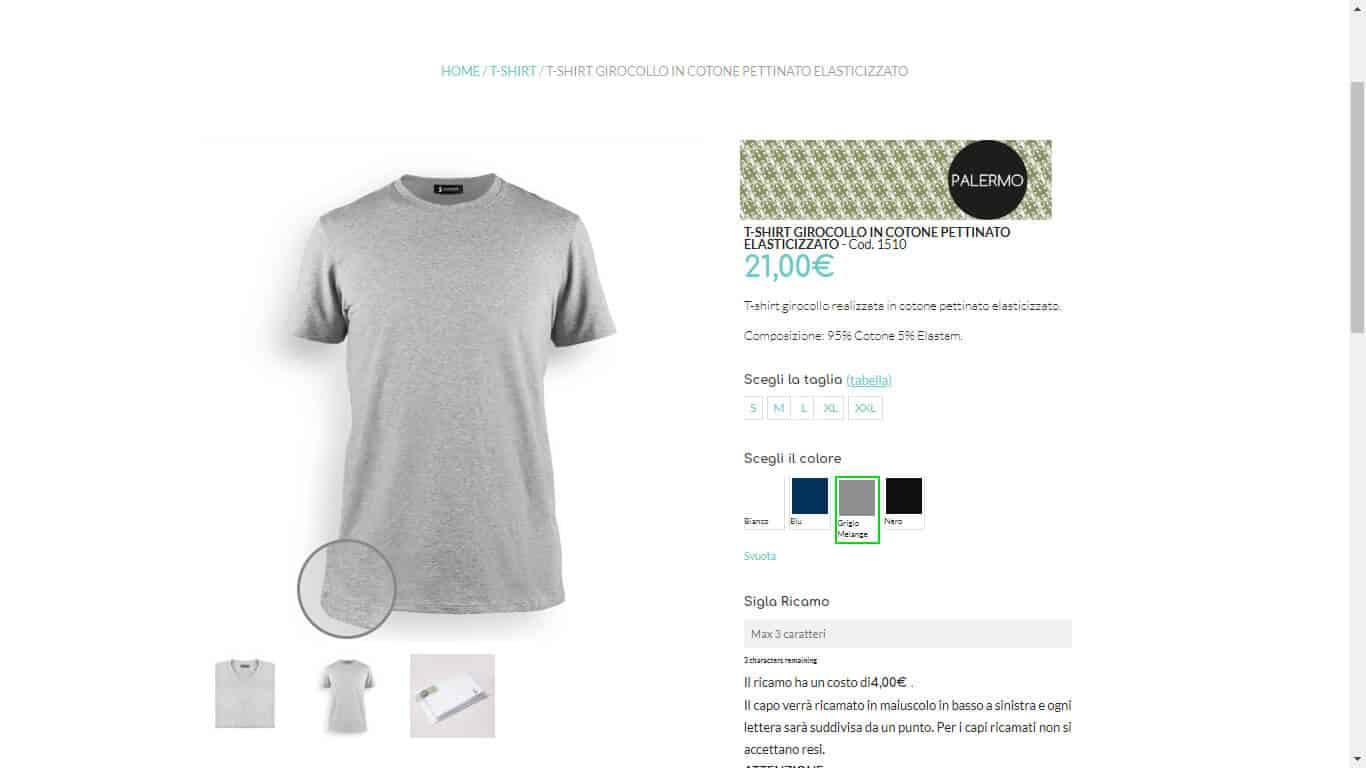 Sviluppo e-Commerce Abbigliamento Intimo 2